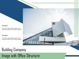 Building Company Image With Office Structure