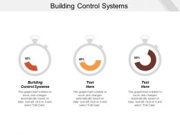 Building Control Systems Ppt Powerpoint Presentation Icon Templates Cpb