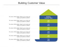 Building Customer Value Ppt Powerpoint Presentation Icon Graphics Example Cpb