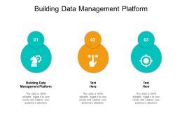 Building Data Management Platform Ppt Powerpoint Presentation Model Gridlines Cpb