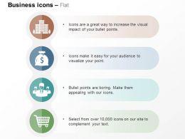 building_dollar_bag_team_shopping_cart_ppt_icons_graphics_Slide01