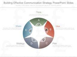 Building Effective Communication Strategy Powerpoint Slides