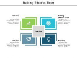 Building Effective Team Ppt Powerpoint Presentation Inspiration Slideshow Cpb