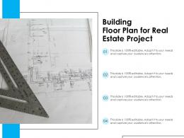 Building Floor Plan For Real Estate Project