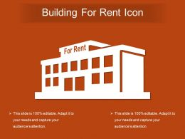 Building For Rent Icon