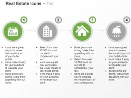 Building For Sale Apartment Home Shower Ppt Icons Graphics