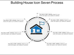 Building House Icon Seven Process Ppt Diagrams