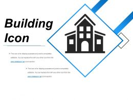 Building Icon Example Of Ppt