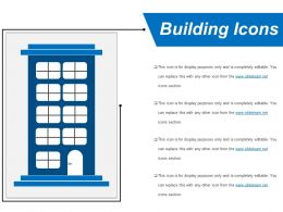 Building Icons Powerpoint Layout