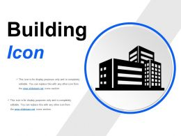 Building Icons Powerpoint Slide Designs