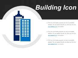 Building Icons Powerpoint Slide Show