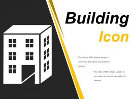 Building Icons Powerpoint Slides