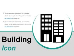 Building Icons Ppt Design