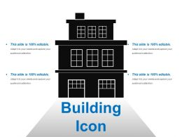 Building Icons Sample Of Ppt