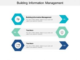 Building Information Management Ppt Powerpoint Presentation File Topics Cpb