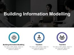 Building Information Modelling Ppt Powerpoint Presentation File Icon Cpb