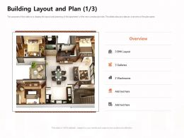 Building Layout And Plan BHK Layout Ppt Powerpoint Presentation Shapes