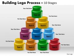 Building Lego Process 10 Stages 45