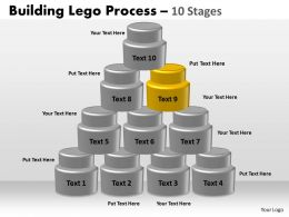 67935199 Style Variety 1 Lego 10 Piece Powerpoint Presentation Diagram Infographic Slide