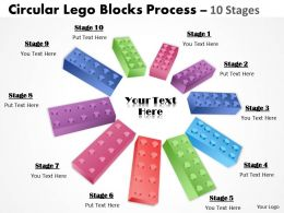 Building Lego Process 10 Stages