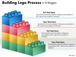 Building Lego Process 4 Stages