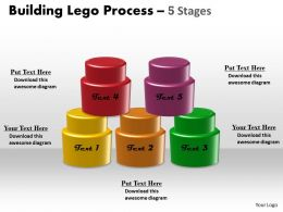 Building Lego Process 5 Stages 5