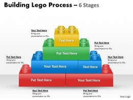 Building Lego Process 6 Stages 1