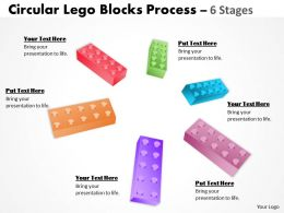 Building Lego Process 6 Stages