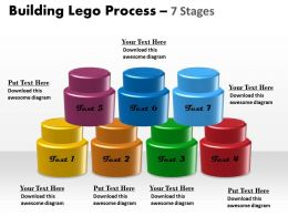 Building Lego Process 7 Stages 9