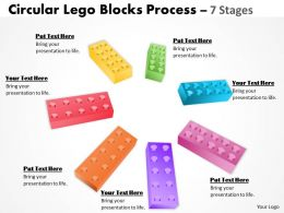 Building Lego Process 7 Stages