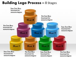 Building Lego Process 8 Stages 1