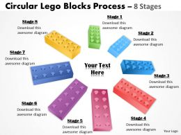 Building Lego Process 8 Stages
