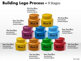 Building Lego Process 9 Stages 4