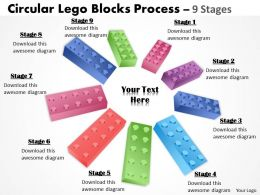 Building Lego Process 9 Stages