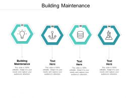 Building Maintenance Ppt Powerpoint Presentation Pictures Graphic Tips Cpb