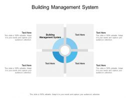 Building Management System Ppt Powerpoint Presentation Infographics Master Slide Cpb