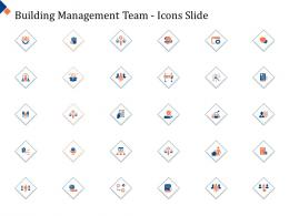 Building Management Team Icons Slide Ppt Powerpoint Presentation Tutorials