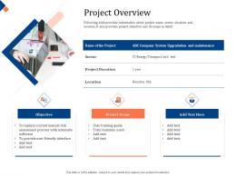 Building Management Team Project Overview System Ppt Powerpoint Presentation Objects