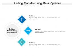 Building Manufacturing Data Pipelines Ppt Powerpoint Presentation Professional Graphics Tutorials Cpb