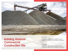 Building Material Commercial Construction Site