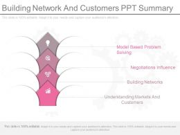 Building Network And Customers Ppt Summary