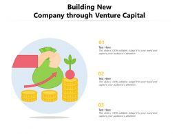 Building New Company Through Venture Capital