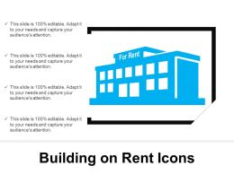 Building On Rent Icons