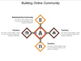 Building Online Community Ppt Powerpoint Presentation Slides Example Topics Cpb