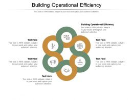 Building Operational Efficiency Ppt Powerpoint Presentation Styles Graphics Template Cpb
