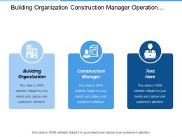 Building Organization Construction Manager Operation Enhancement Assessment Definition