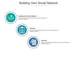 Building Own Social Network Ppt Powerpoint Presentation Picture Cpb