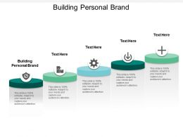Building Personal Brand Ppt Powerpoint Presentation File Slide Cpb