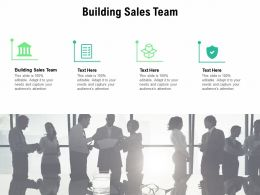 Building Sales Team Ppt Powerpoint Presentation Styles Outline Cpb