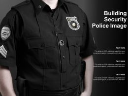 Building Security Police Image